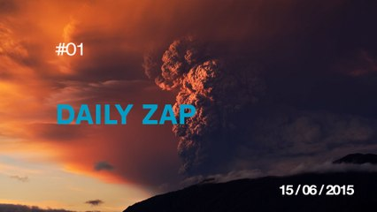 DAILY ZAP #01 : First ever monster truck front flip / World record basketball shot 126.5m (415ft) / Have kids they said