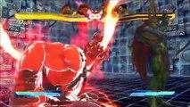 Street Fighter X Tekken ' Akuma's Misogi & Raging Demon Super Art / Akuma X Ryu Cross Art '