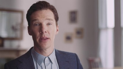 """My dearest one"" - Benedict Cumberbatch reads Chris Barker's letter to Bessie Moore"