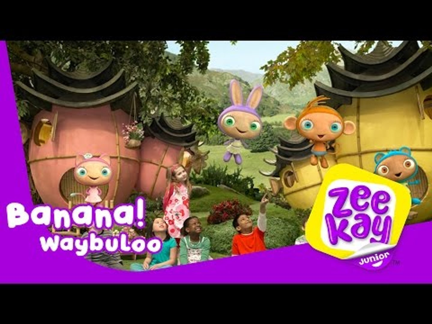 Yojojo Eats Lau Lau S Banana S Waybuloo Zeekay Junior Video Dailymotion