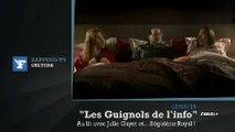 Zapping TV : François Hollande, Julie Gayet et Ségolène Royal dans le même lit !