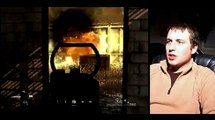 Playing Call of Duty 4: Modern Warfare : Blowing Up Red Barrels in Call of Duty 4: Modern Warfare