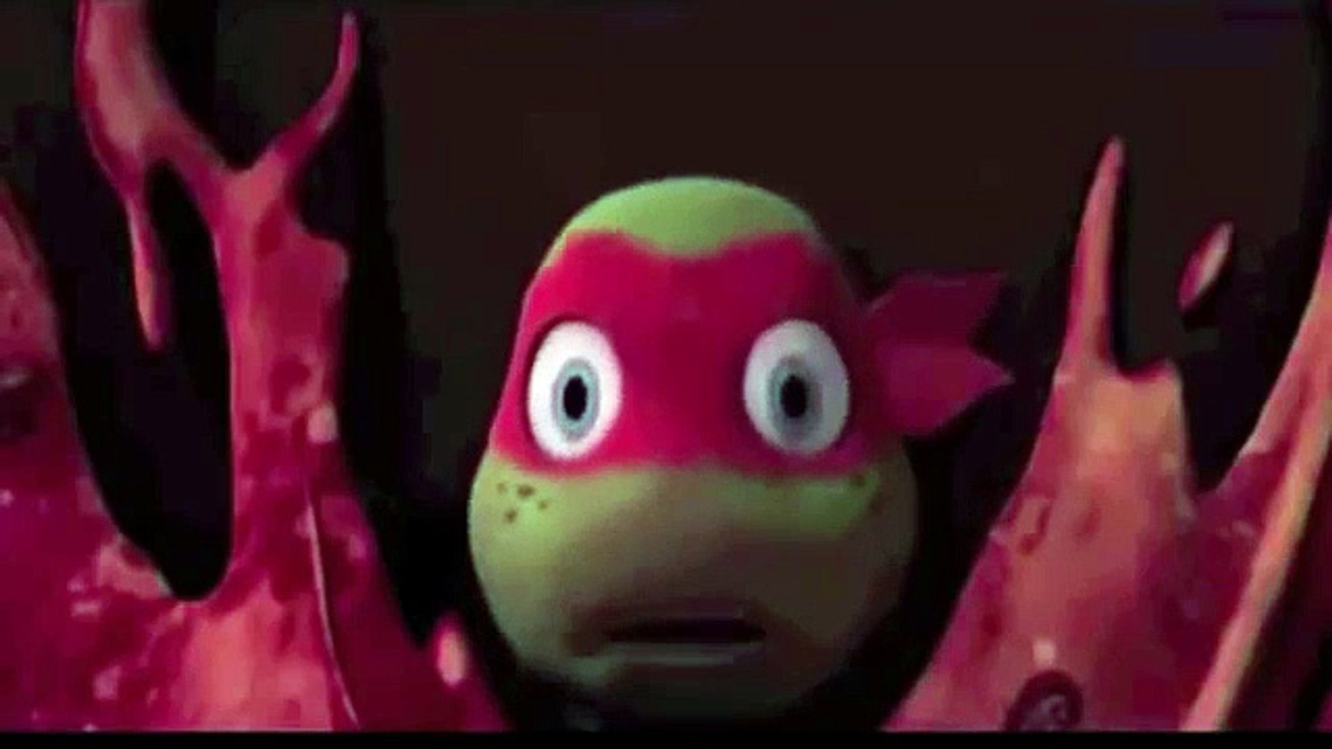 Tmnt 2012 Mikey Vs Pizza Face Video Dailymotion