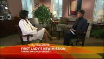 Michelle Obama Combats Childhood Obesity