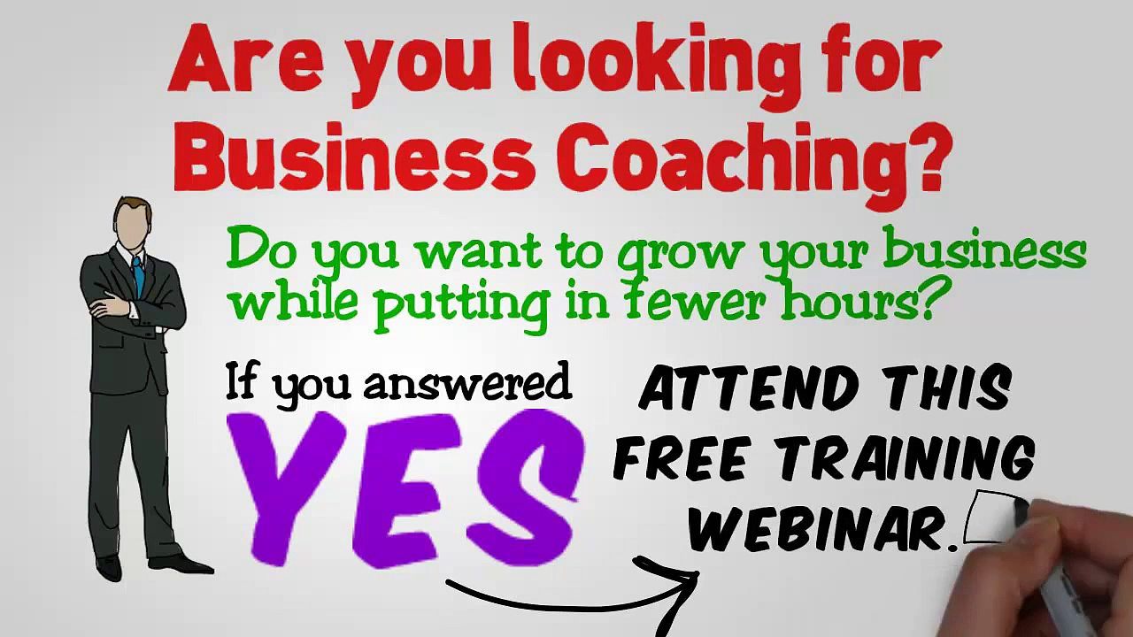 Business Coaching – Free Coaching Webinar