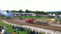 Super Stock Truck Pulls at the Addison County Benefit Pulls