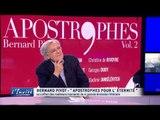 """Bernard PIVOT : """"Mes incroyables souvenirs d'Apostrophes"""""""