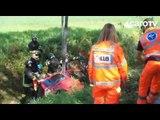 Icaro Tv. In auto nel fosso a San Lorenzo, salvata dai VVFF