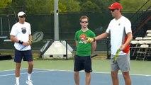 Tennis Lessons: Ryan N. Tennis Stroke Progression [Tennis Instruction N]