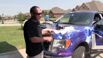50 inch Rigid Industries E-Series LED Light Bar Install Video on A Ford 150.