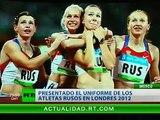 Presentan el uniforme de la delegación rusa para los Juegos Olímpicos de Londres 2012