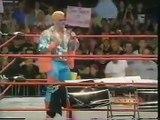 WCW Sting vs Fake Stinger / Jeff Jarrett (Nitro 2000) TNA