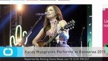 Kacey Musgraves Performs at Bonnaroo 2015