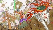 Okami OST - The Great Goddess Amaterasu Returns (大神アマテラス復活)