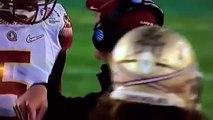 Coach Jimbo Fisher cursing Jamis Winston FSU vs Oregon college football playoff