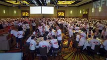 Astellas Employees Assemble Thousands Of Care Packages For Homeless Veterans  3BL Media.mp4