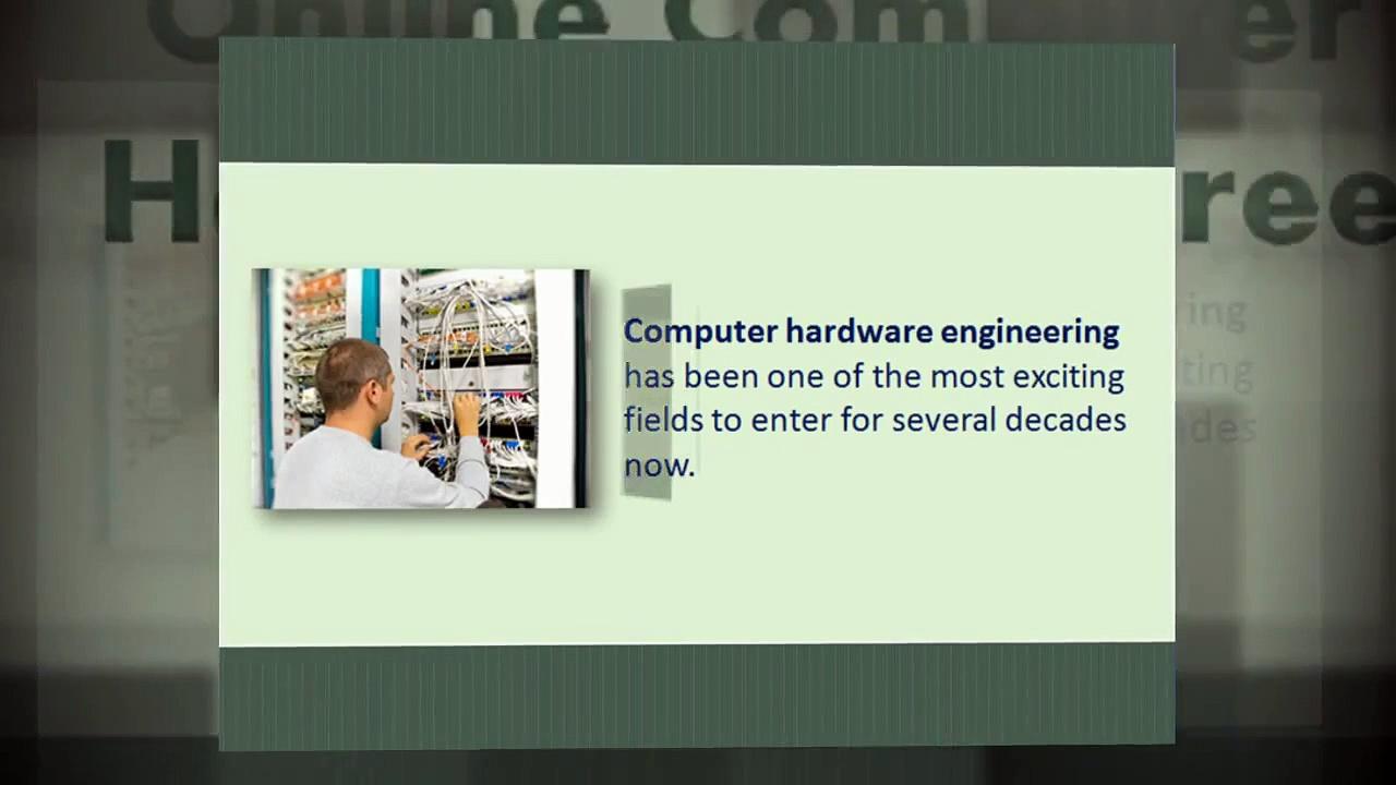 Computer Hardware Engineering Degree Programs