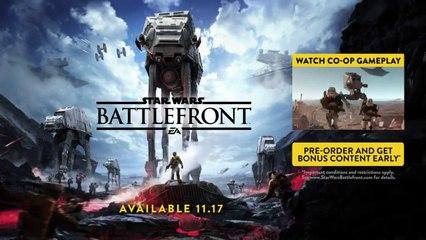Star Wars Battlefront E3 Gameplay Demo