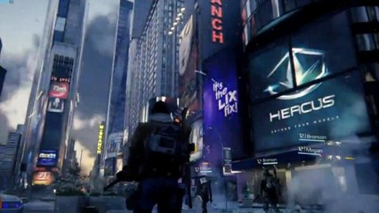 The Division Gameplay Demo E3 2015
