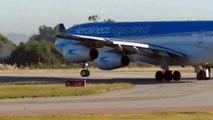 Carrasco International Airport / Uruguay (MVD/SUMU) AR1133  Aerolineas Argentinas A343 , 25/3/ 2014
