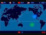 Unikátní mapa atomových výbuchů od 1945 do roku 1998