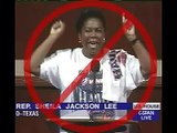 Texas Congresswoman Sheila Jackson Lee funny clip about Michael Jackson memorial service trip