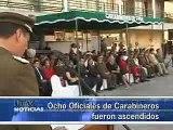 ASCENDIERON A OFICIALES DE CARABINEROS - Iquique TV Noticias