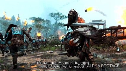 For Honor Gameplay - Multiplayer Walkthrough – E3 2015