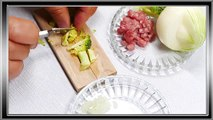 Oven Recipes - Meatballs With Broccoli 4K Tiny Food Mini Food Pocket Cooking The Simpsons