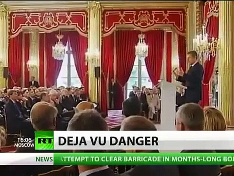 French Bloodthirst Sarkozy wants Syria WW3 SCENARIO