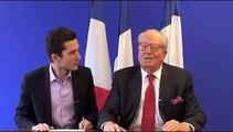 """Jean Marie Le Pen """"l'affaire Charlie-hebdo"""", l'islamisme et le communautarisme"""