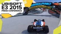 Trackmania Turbo Gameplay Demo - E3 2015 Ubisoft Press Conference