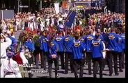 Vecumnieku novads latviešu vispārējo Dziesmu un Deju svētku dalībnieku gājienā