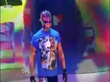 wwe 29/1/10  friday night smackdown rey mysterio , dx and straight edge society convosation