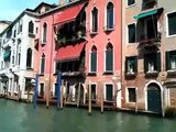 A glimpse of the Grand Canal, Venice, from a vaporetto ride