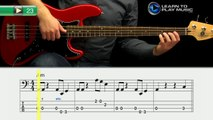 Ex023 How to Play Bass Guitar   Slap Bass Guitar Lessons for Beginners