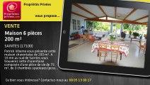 A vendre - maison - SAINTES (17100) - 6 pièces - 200m²