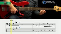 Ex022 How to Play Bass Guitar   Slap Bass Guitar Lessons for Beginners