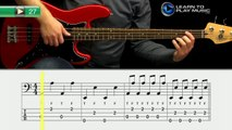 Ex027 How to Play Bass Guitar   Slap Bass Guitar Lessons for Beginners