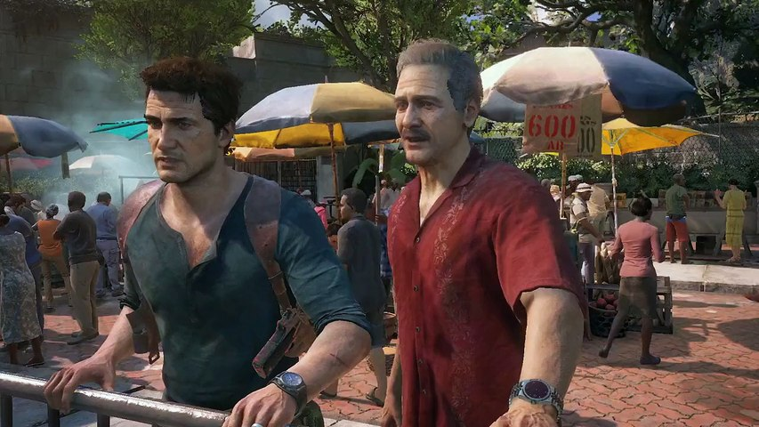 Uncharted 4 - vidéo de gameplay - E3 2015
