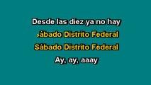 Chava Flores - Sábado Distrito Federal - Karaoke Version