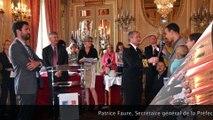 Cérémonie de remise des décrets de naturalisation à la préfecture de Rennes