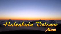 Haleakala Volcano Sunrise Maui Hawaii - May 23, 2011 - HD