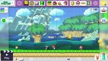 Super Mario Maker : trailer E3 (date de sortie)