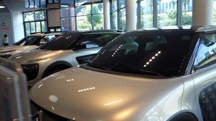 Citroën C4 Cactus : exposition des maquettes de style de la genèse