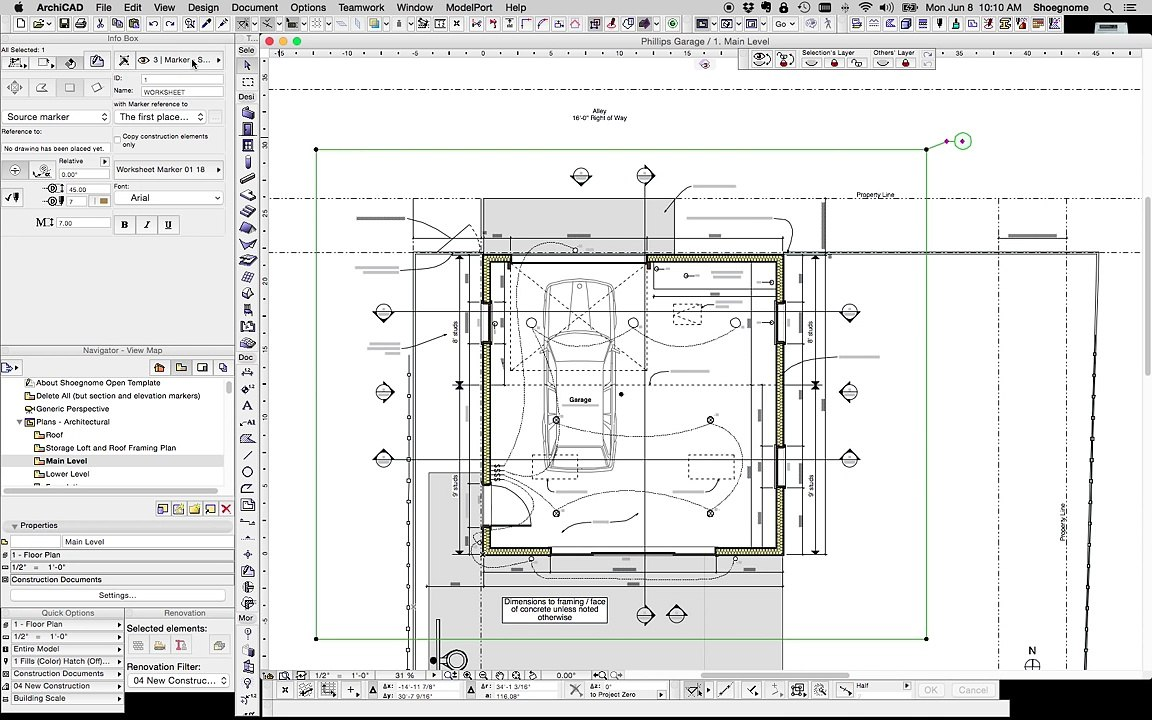 ARCHICAD TIP #48: Using Worksheets in ARCHICAD for DWG export