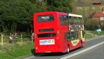 Brighton & Hove Double-decker buses / Doppeldeckerbusse England, East Sussex