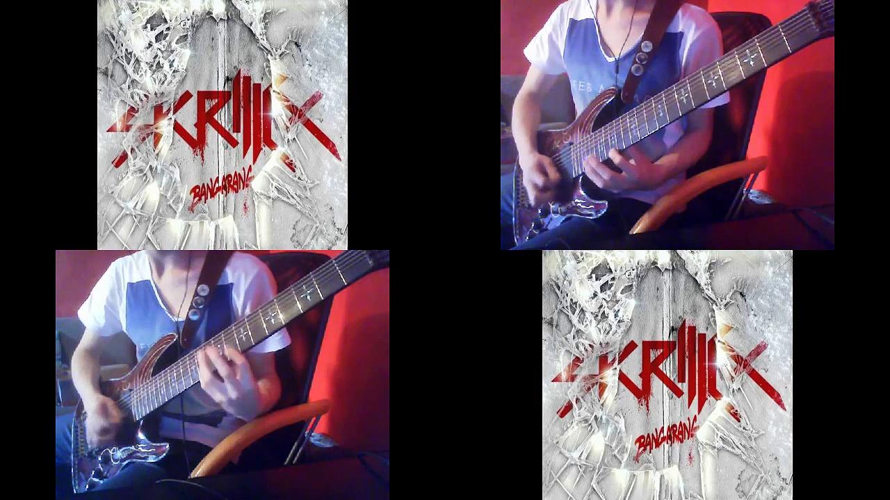 Skrillex – BANGARANG [8 Strings Guitar Metal Cover]