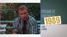 1989 - La première chronique de Yann Lavoix