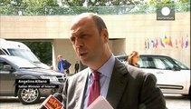 """Migranti, riunione dei ministri Ue a Lussemburgo. Alfano:""""Ventimiglia é un pugno in faccia all'Europa"""""""